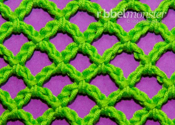 Crochet Net – Even Diamonds