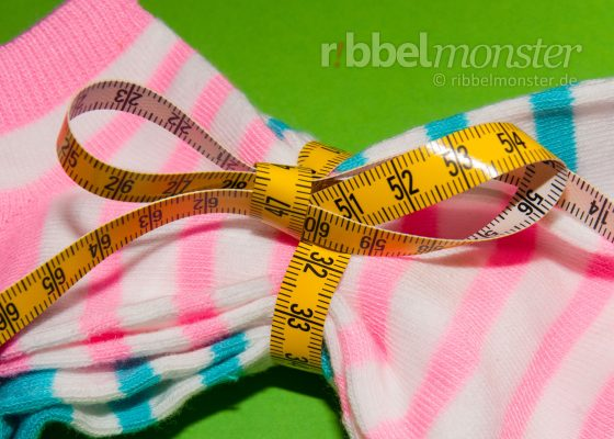 Measure Sock Sizes and Shoe Sizes