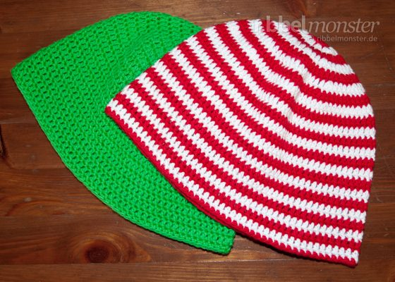 Crochet Hat – Beanie with Double Crochet Stitches