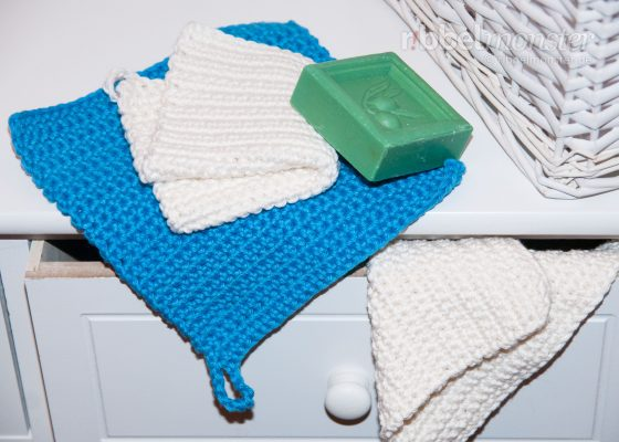 Crochet Simple Washcloths