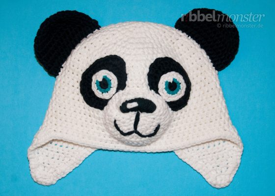 "Crochet Panda Hat ""Paddy"""
