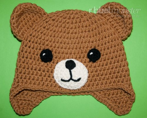 "Crochet Teddy Hat ""Kuno"""