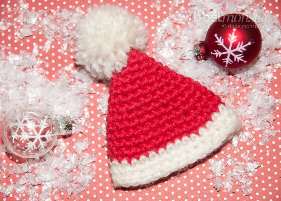 "Crochet Egg Warmer ""Santa Hat"""