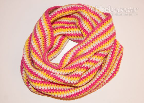 Crochet Loop – with Half Double Crochet Stitches