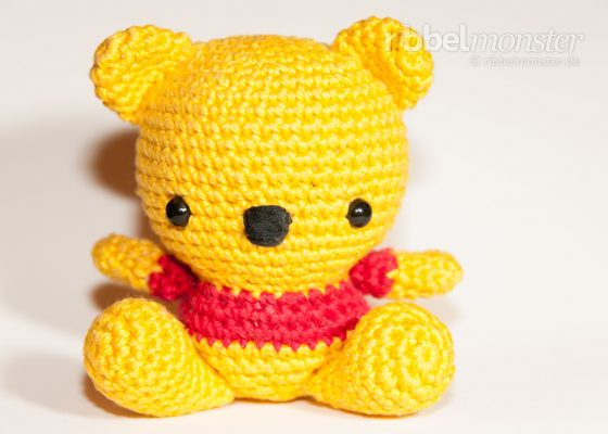 Amigurumi – Crochet Baby Winnie the Pooh