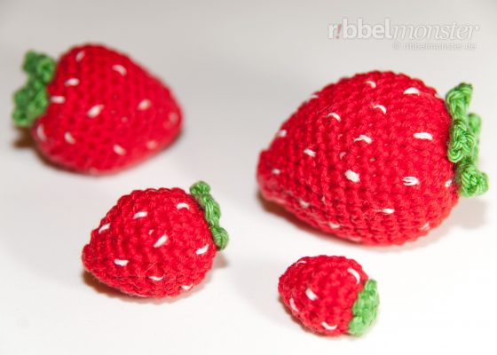 Amigurumi – Crochet Strawberries