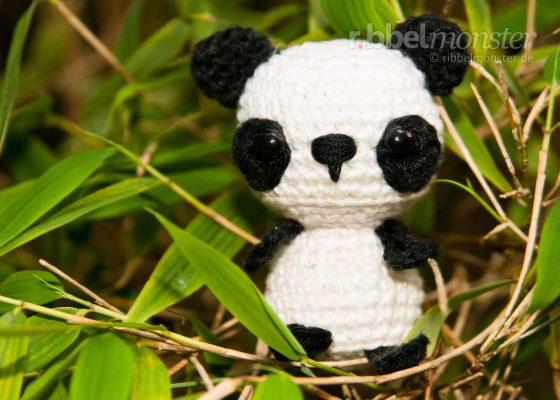 "Amigurumi – Minimee Crochet Panda Bear ""Eiko"""