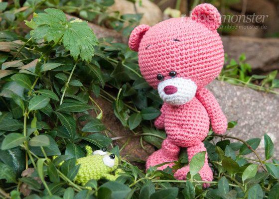 """Amigurumi – Crochet Teddy """"Pina"""""""