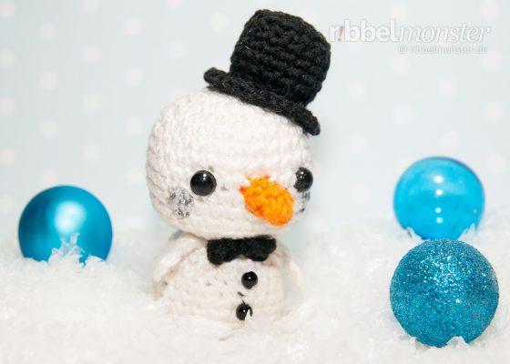 """Amigurumi – Minimee Crochet Snowman """"Erik"""""""