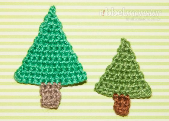 Crochet Patch – Crochet Simple Christmas Tree