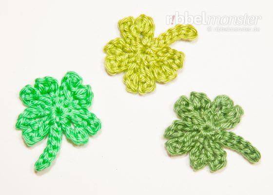 "Crochet a 4 Leaf Clover ""Gli"""