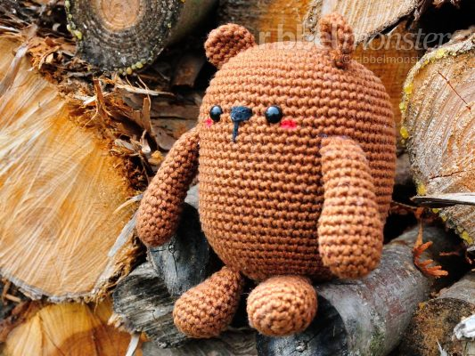 "Amigurumi – Crochet Biggest Bear ""Mr. Potato"""