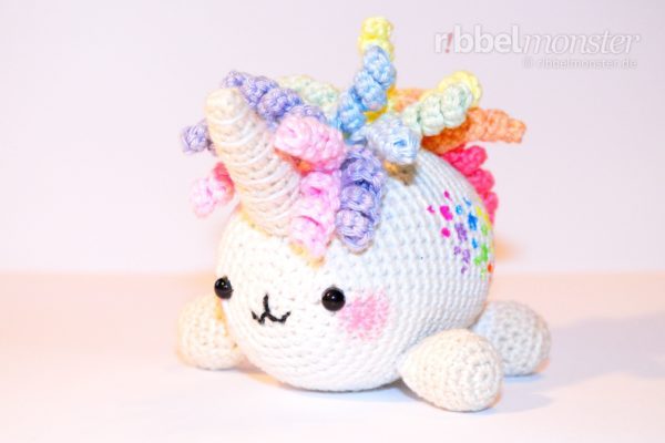 "Amigurumi – Crochet Big Unicorn ""Giggli"""