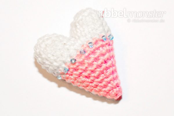 Amigurumi – Crochet smallest Tilda heart
