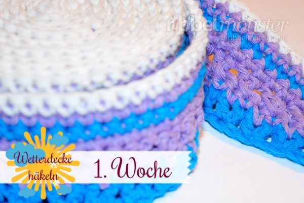 Crochet Weather Blanket – CAL – 1st Week