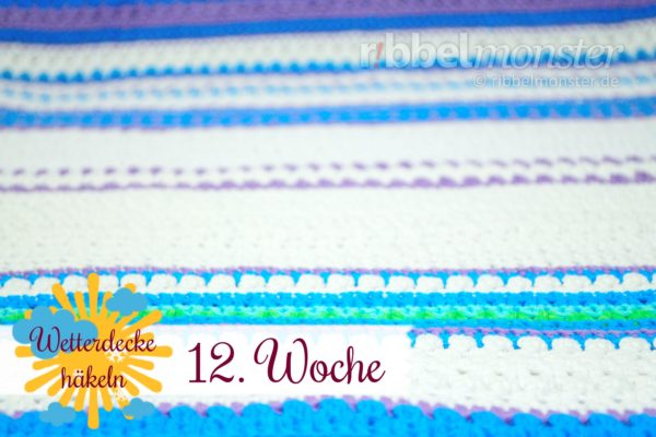 Crochet Weather Blanket – CAL – 12th Week