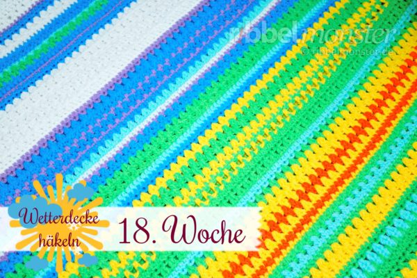 Crochet Weather Blanket – CAL – 18th Week