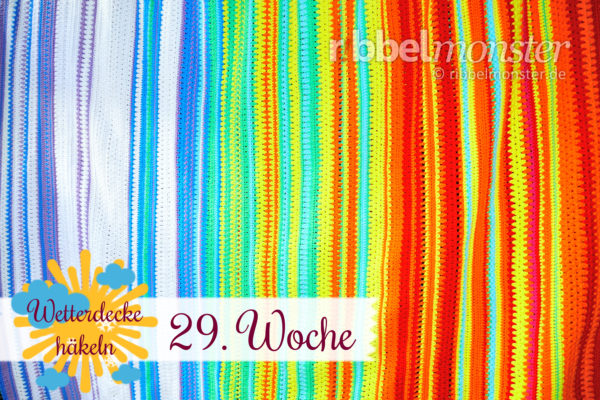Crochet Weather Blanket – CAL – 29th Week
