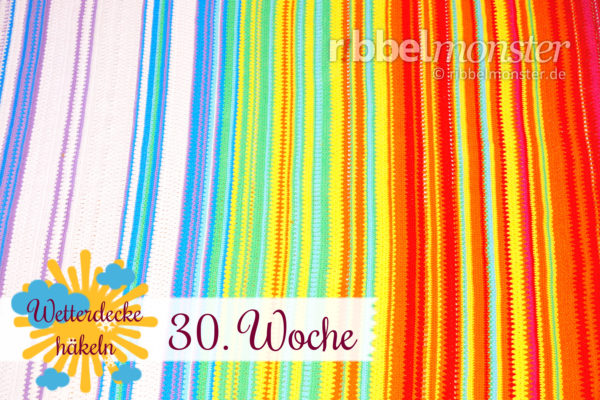 Crochet Weather Blanket – CAL – 30th Week