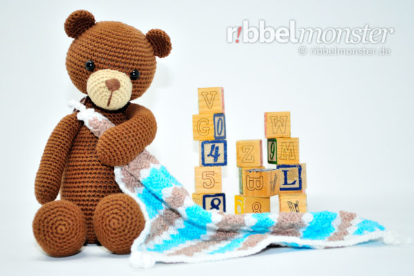 "Amigurumi – Crochet Bear ""Bruno"""