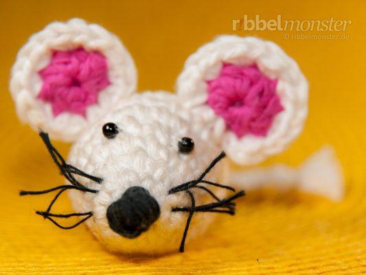 "Amigurumi – Crochet Mouse ""Lotti"""