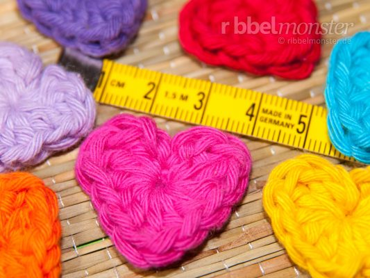 Crochet Patch – Crochet Small Heart