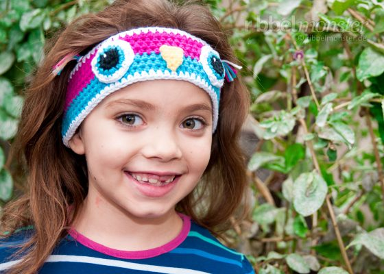 "Crochet Headband – ""Little Owl"""
