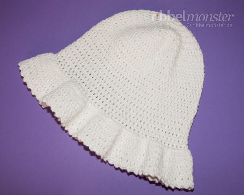 "Crochet Hat – Summer Hat, Sun Hat ""Annabelle"""