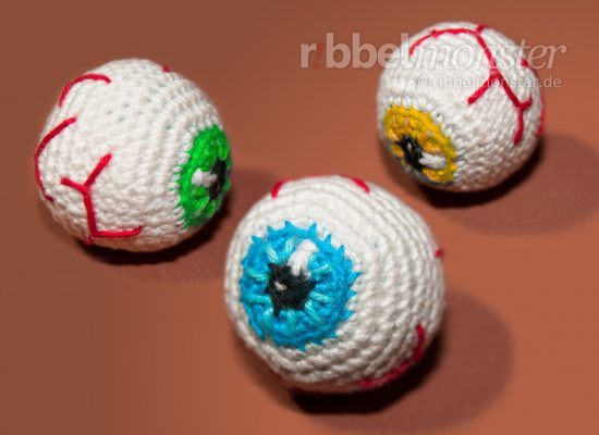 Amigurumi – Crochet Eyeball