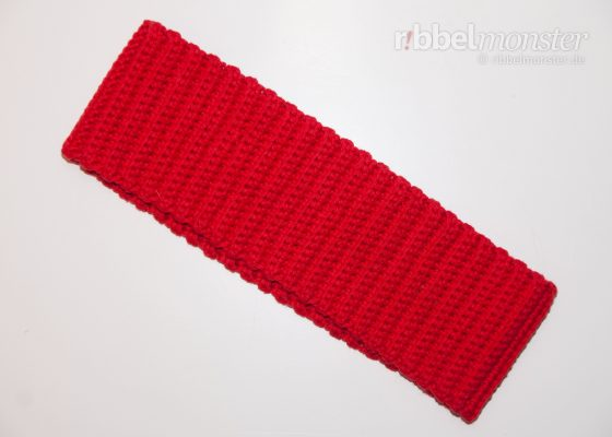 Crochet Ribbed Headband