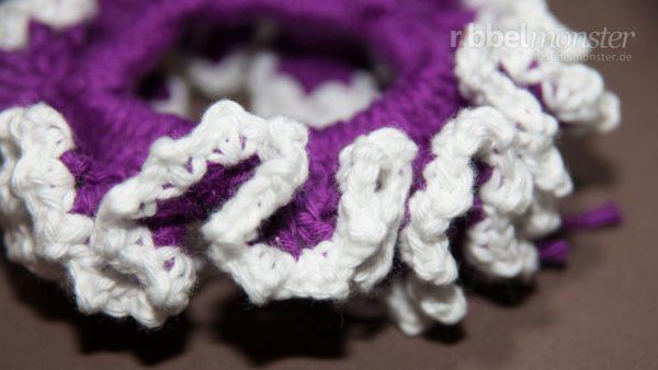"Crochet Hair Tie ""Koraline"""