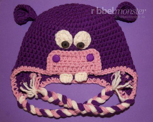 """Crochet Hippo Hat """"Hanny"""""""