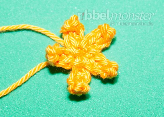 Crochet Flowers – Crochet Small Blossom