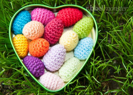 Amigurumi – Crochet Tiny Ester Eggs