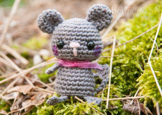 "Amigurumi – Minimee Crochet Mouse ""Lina"""