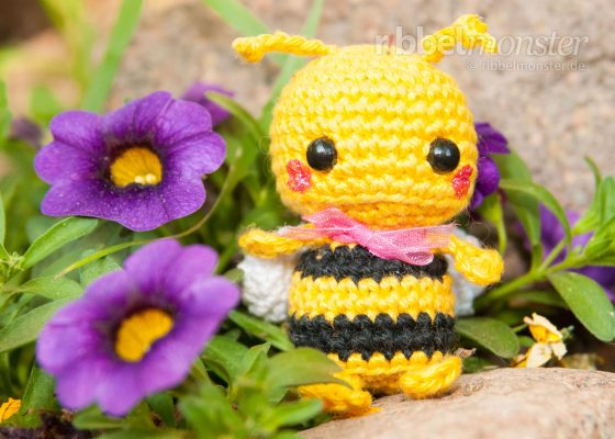 """Amigurumi – Minimee Crochet Bee """"Mika"""""""