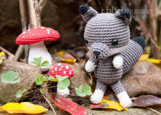 "Amigurumi – Crochet Lovely Wolf ""Diego"""