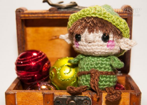 "Amigurumi – Minimee Crochet Elf ""Tinsel"""