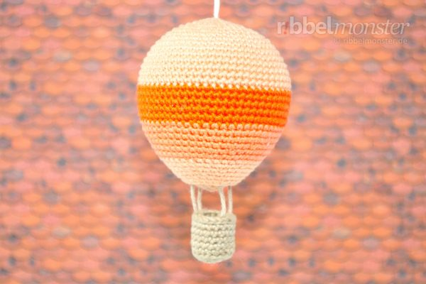 Amigurumi – Crochet Biggest Hot Air Balloon
