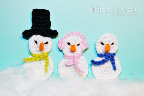 Patch – Crochet Tiny Snowman