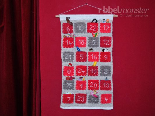 Crochet Simple Advent Calendar