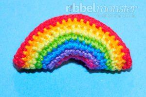 Amigurumi - Crochet Tiny Rainbow - Tutorial - Crochet Pattern