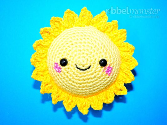 "Amigurumi – Crochet Biggest Sun ""Sunshine"""