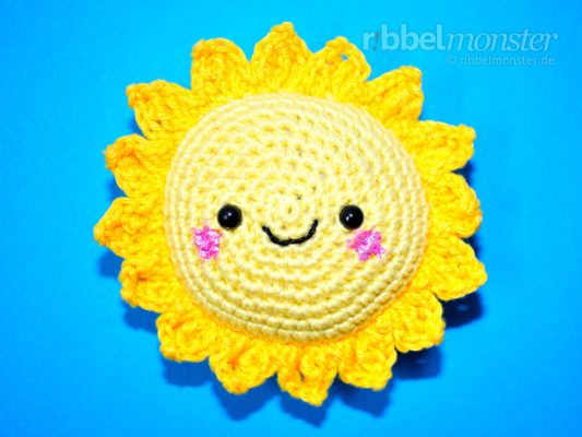 "Amigurumi – Crochet Big Sun ""Sunshine"""