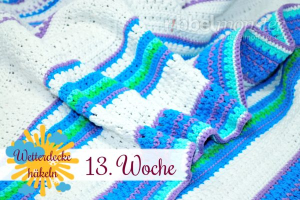Crochet Weather Blanket – CAL – 13th Week