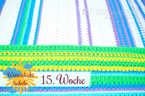 Crochet Weather Blanket – CAL – 15th Week