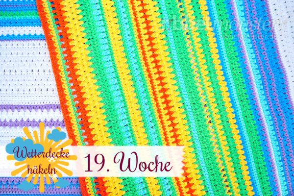 Crochet Weather Blanket – CAL – 19th Week