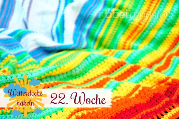 Crochet Weather Blanket – CAL – 22nd Week