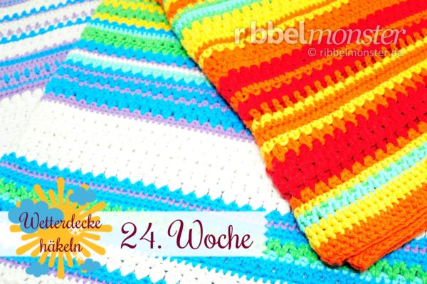 Crochet Weather Blanket – CAL – 24th Week