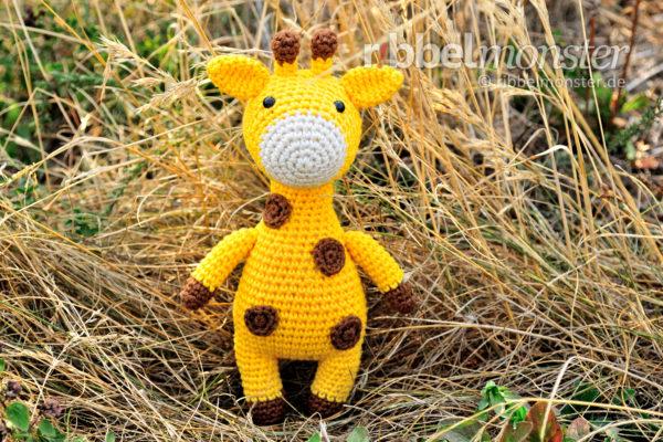 "Amigurumi – Crochet Giraffe ""Hans Joachim"""